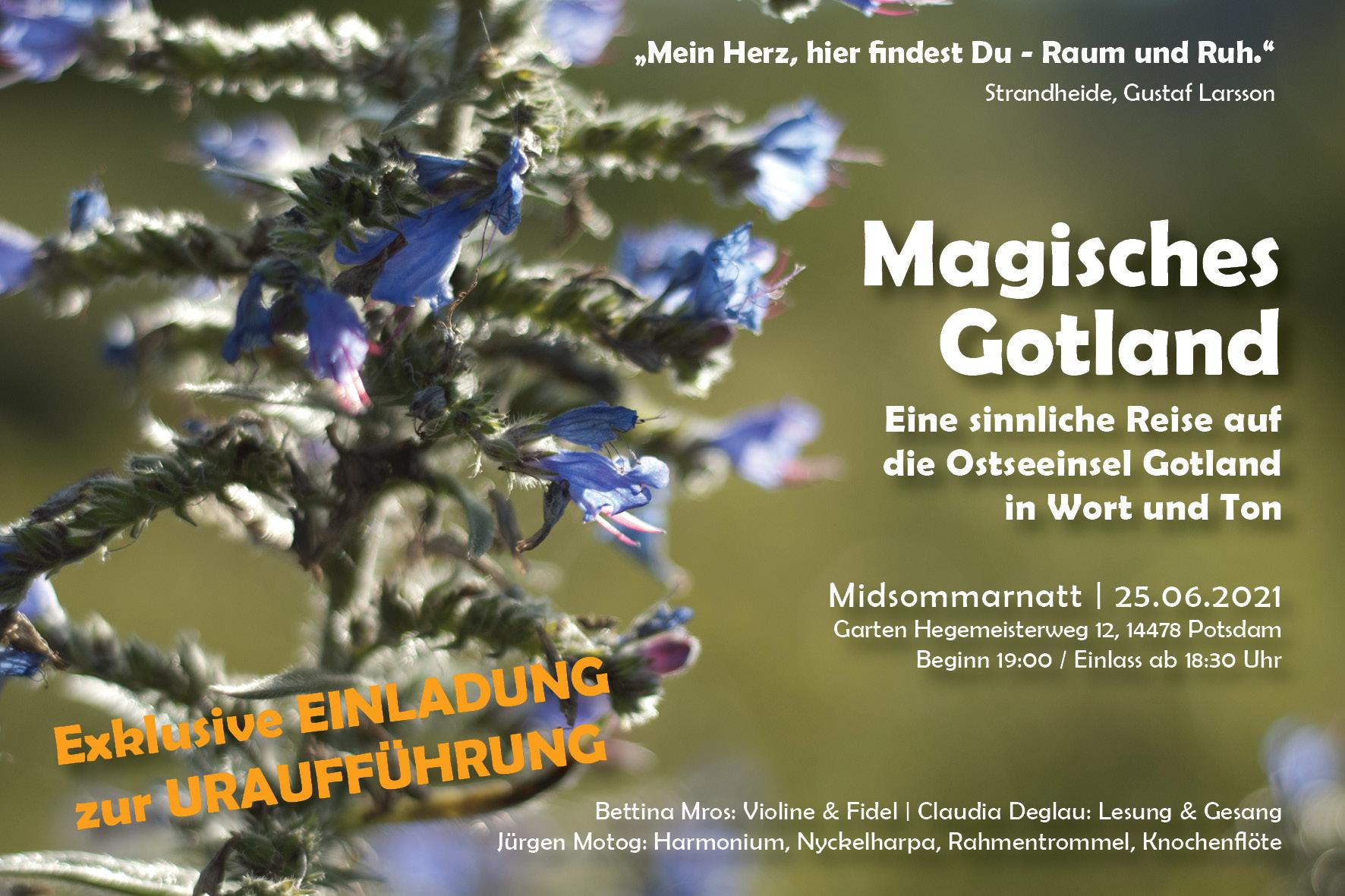 Gotland Programm